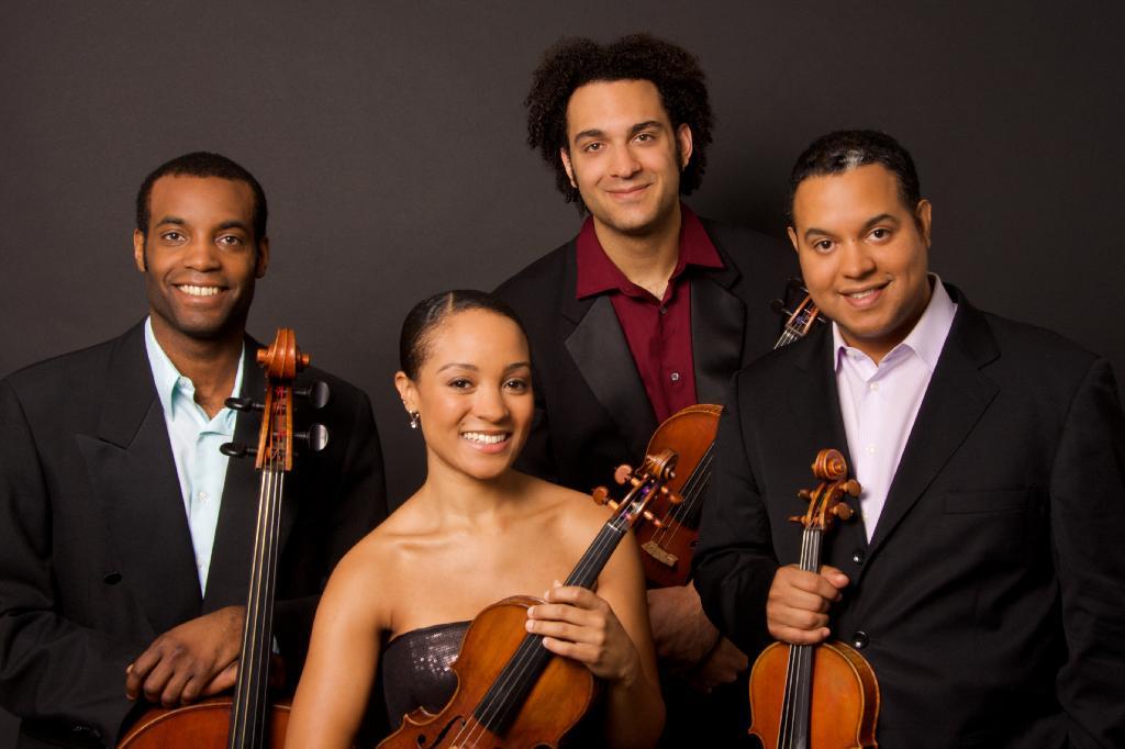 Courtesy of the Harlem Quartet