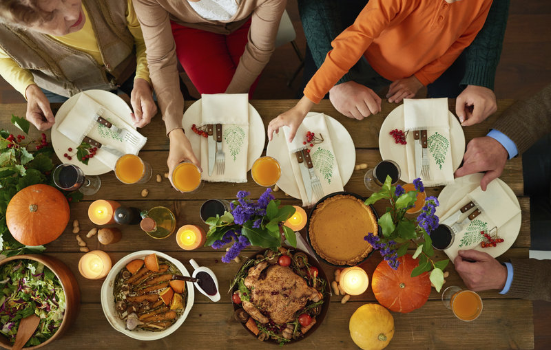 How To Survive... And Maybe Even Enjoy Thanksgiving Dinner (iStockphoto)
