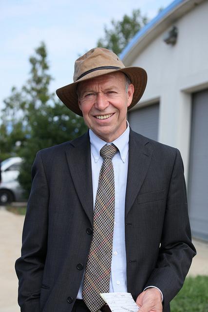 James Hansen. (Milan Ilnyckyj via Flickr)