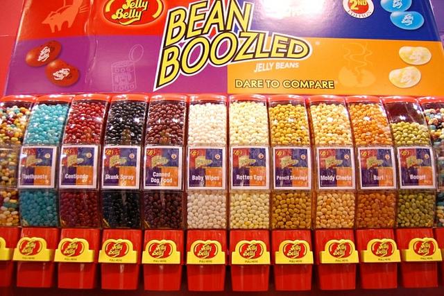 Jelly Belly BeanBoozled jelly beans (WBEZ/Louisa Chu)