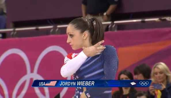 USA's Jordyn Wieber
