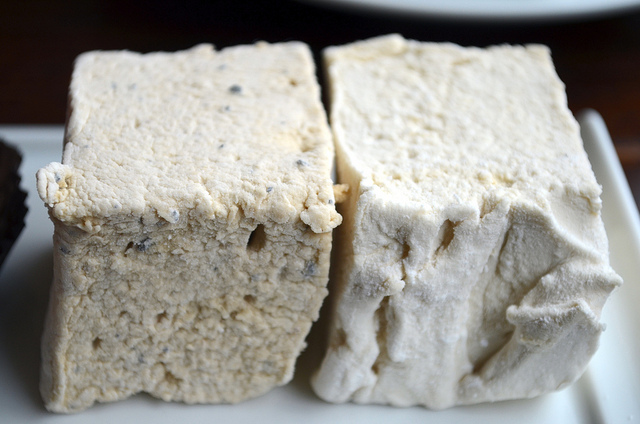Coffee and Earl Grey tea marshmallows at Katherine Anne Confections (WBEZ/Louisa Chu)