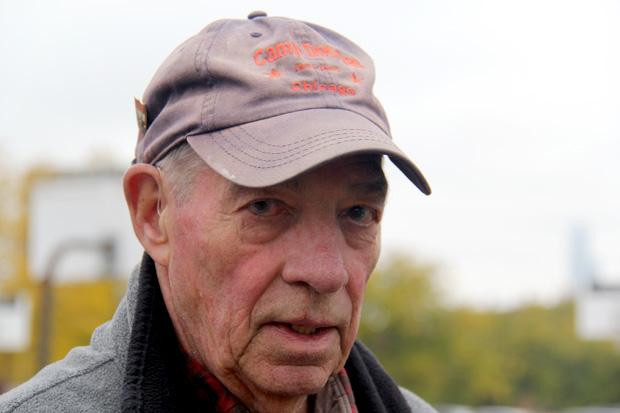 David Keller, the managing director of the Camp Douglas Restoration Foundation. (Andrew Gill/WBEZ)