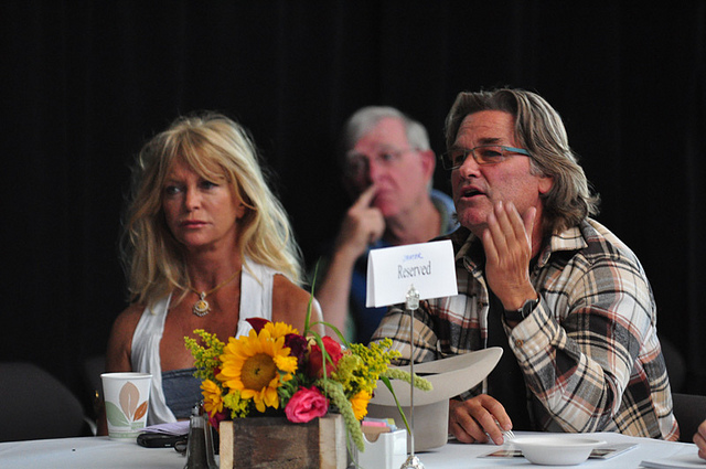 Goldie Hawn and Kurt Russell in 2010. (Flickr/The Aspen Festival)
