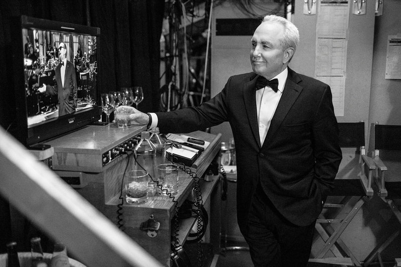 Lorne Michaels backstage at the SNL 40th anniversary special at 30 Rockefeller Plaza in New York, N.Y., on Feb. 15. (Lloyd Bishop/Courtesy of NBC)