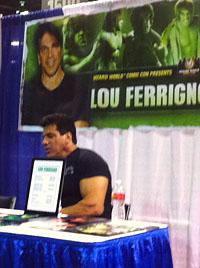 Lou Ferrigno (WBEZ/Tim Akimoff)