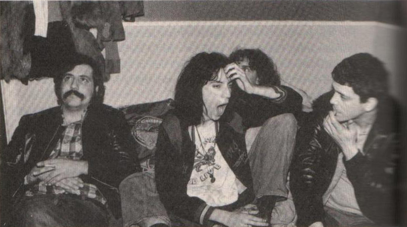 My favorite pic in 'Let It Blurt': Lester Bangs, Patti Smith & Lou Reed in New York, 1975 (Kate Simon)