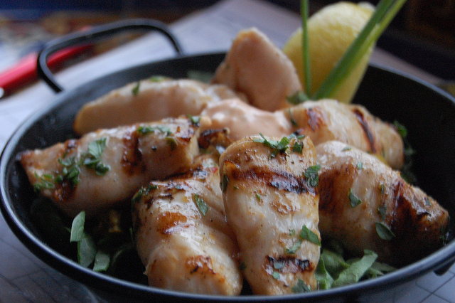 Black cod tips at Ludvig's Bistro in Sitka, Alaska (WBEZ/Louisa Chu)