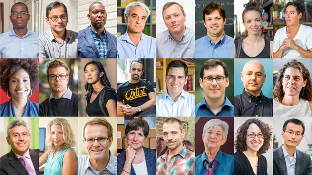 The 2015 MacArthur Genius Grant recipients. (Courtesy of the John D. & Catherine T. MacArthur Foundation)