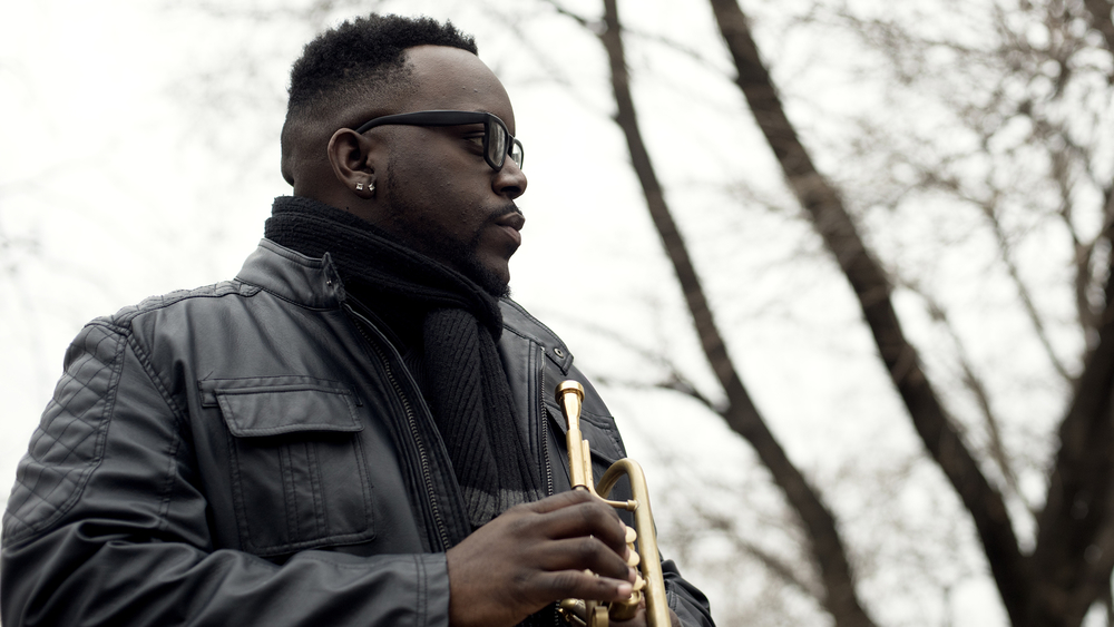 Marquis Hill studied Music at Northern Illinois University, and Jazz Pedagogy at DePaul University. (Christopher Baliwas)