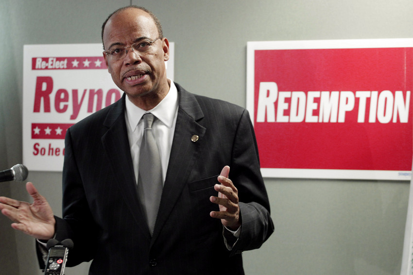 Mel Reynolds is running for Congress under the them of 'Redemption.' (AP/M. Spencer Green)