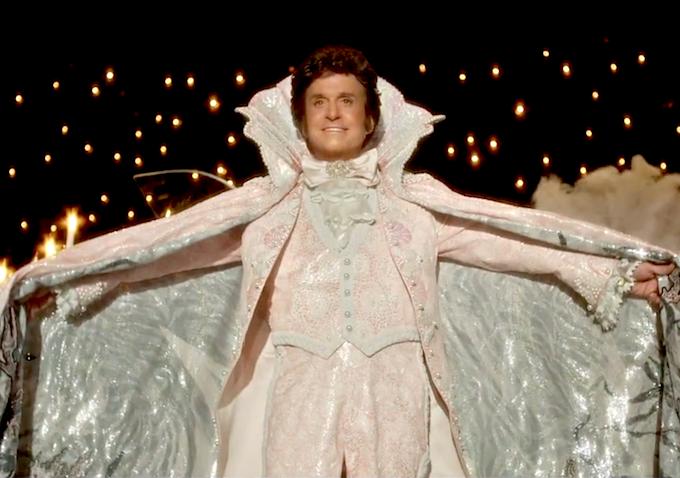 Michael Douglas as Liberace in Steven Soderbergh's HBO film