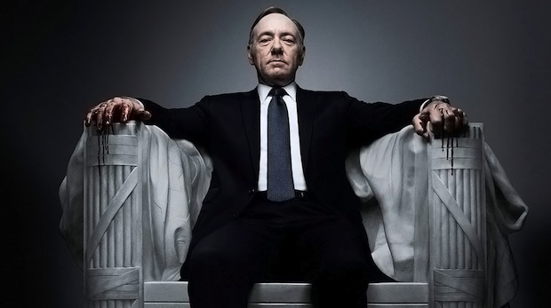 Kevin Spacey stars as the vengeful Frank Underwood on the Netflix political drama 'House of Cards.' (Salon.com)