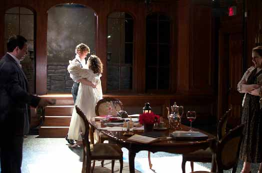 'Arcadia' at New Leaf, the company's last production. (Photo by Tom McGrath)