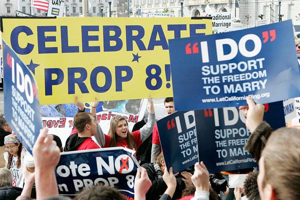 File: Prop 8 demonstrators. (AP/File)
