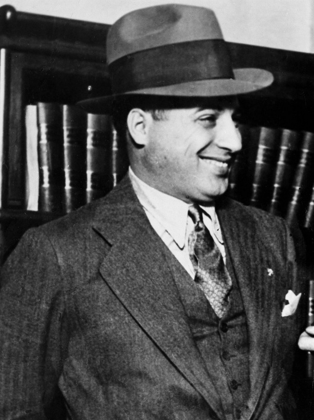 Ralph Capone in 1930, the year he was included on the Chicago Crime Commission's list of Public Enemies. (AP)