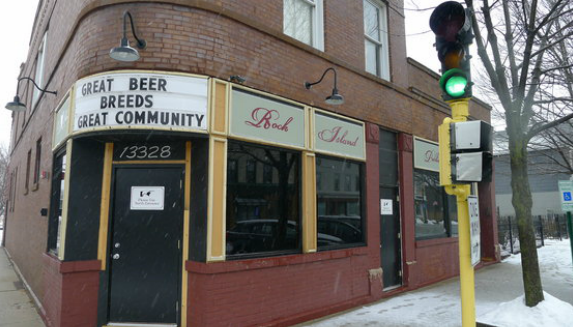 Blue Island's Bauer brewery opened in 1858 but didn't survive until today. The the beer-loving tradition continues with a new business: Rock Island Public House. (WBEZ/file)