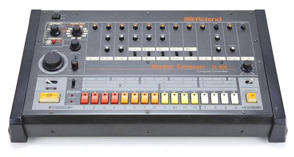 The Roland TR-808: machine as movie star.