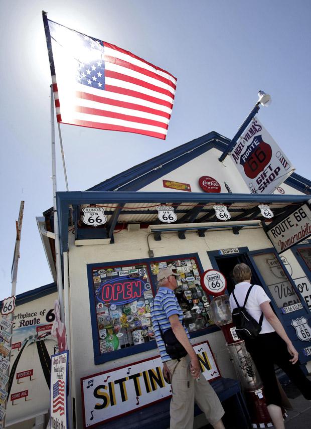 A souvenir store off Route 66. (AP/Matt York)