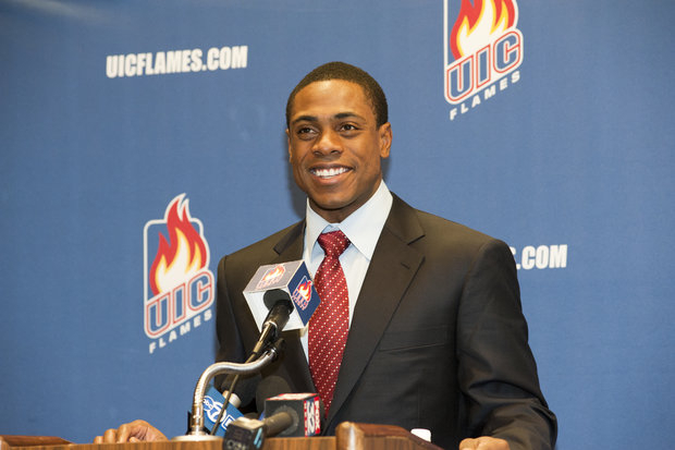Yankee star and Chicago native Curtis Granderson gives back to his college-UIC (UIC Athletics)