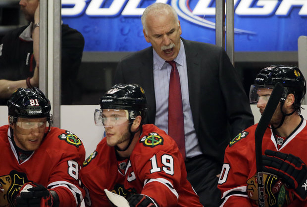Coach Quenneville hopes his troops are ready heading into Detroit (AP/File)