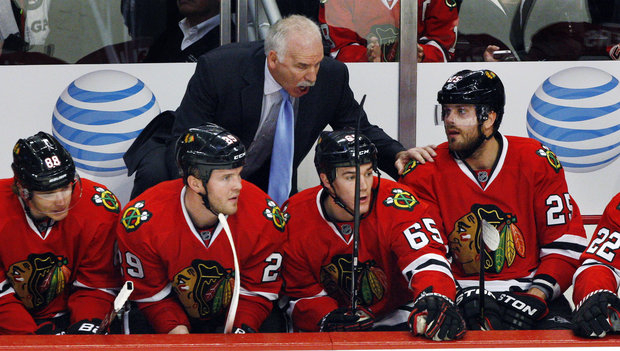 The NHL gets a huge boost from the play of the Blackhawks. (AP Photo/Joe Smierciak)