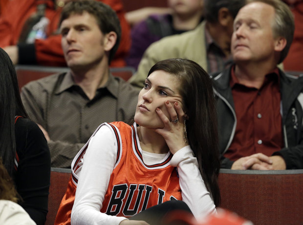 Bulls fans are glum about the team's chances against Miami. (AP/File)