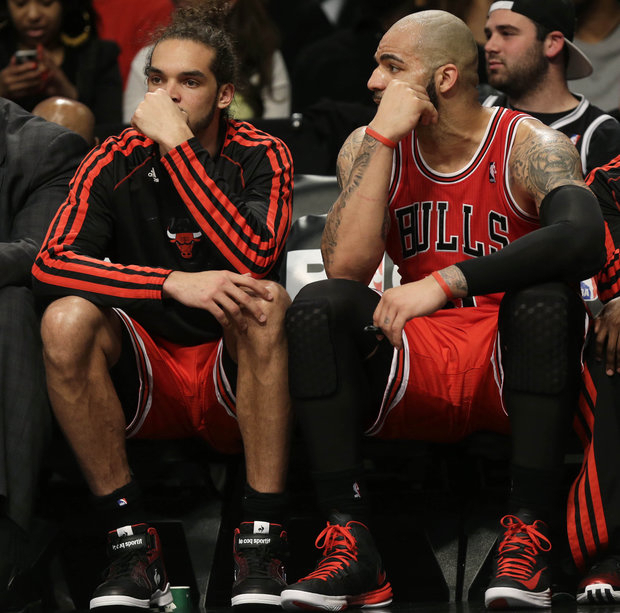 Bulls hope to have a better outcome tonight in Game 2 against Brooklyn. (AP/File)