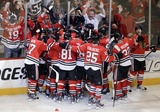 Blackhawks have finished celebrating and move on to play LA (AP/File)