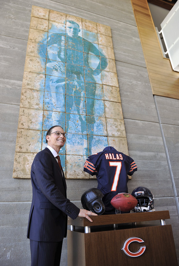Bears head coach Marc Trestman has assembled his staff. Now the work begins. (AP Photo/Jim Prisching)