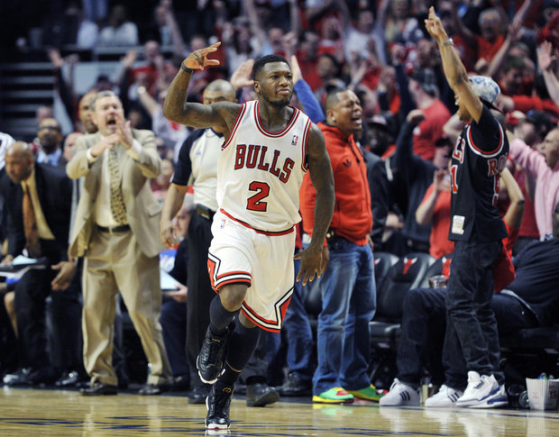 Can Nate Robinson come to the Bulls' rescue again? (AP/File)