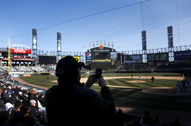 US Cellular had lots of empty seats for the first 2013 series. (AP)