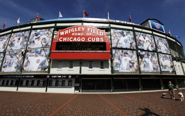 Plans to upgrade Wrigley heats up.(AP Photo/Nam Y. Huh)