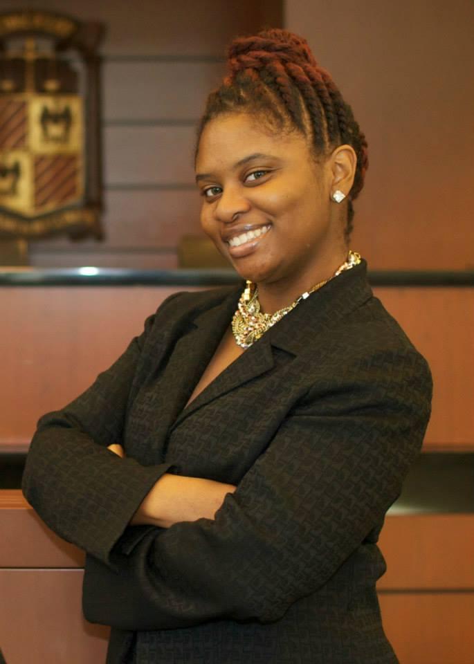 Shana Jackson asked our question about former Chicago Mayor Jane Byrne. (Photo courtesy of Shana Jackson)