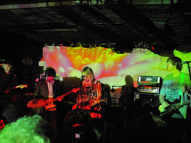 Sonic Youth at Maxwell's, 2005; Steve Shelley was a co-owner (gnta, Flickr/Creative Commons).