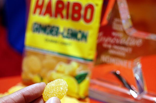 Haribo Ginger-Lemon (WBEZ/Louisa Chu)