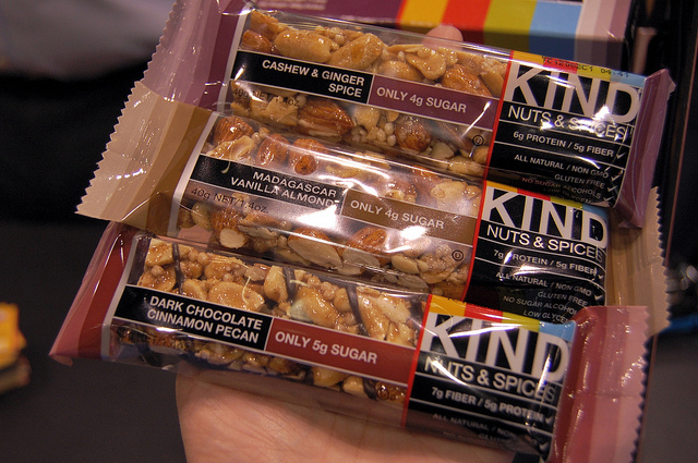 KIND Nuts & Spices bars (WBEZ/Louisa Chu)