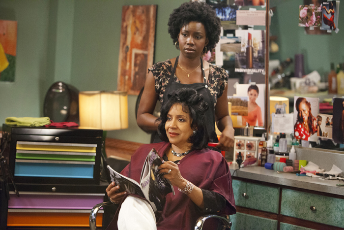 Adepero Oduye and Phylicia Rashad in 'Steel Magnolias.' (AP)