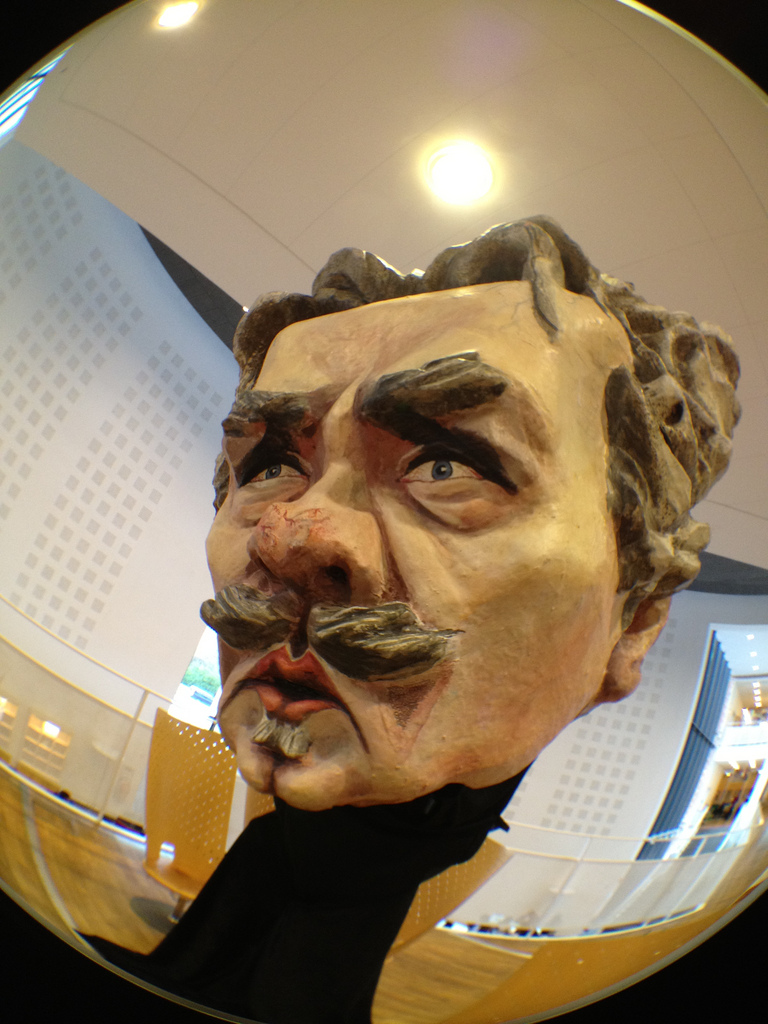 A larger than life Strindberg. (Flickr/Camilla Nilsson)