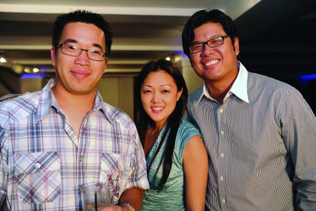 From left to right, Eric Hsueh, Erikka Wang and Jon Cotay. The three college friends founded Akira 11 years ago. They were successful despite knowing little about fashion or business. (Photo courtesy of Akira)
