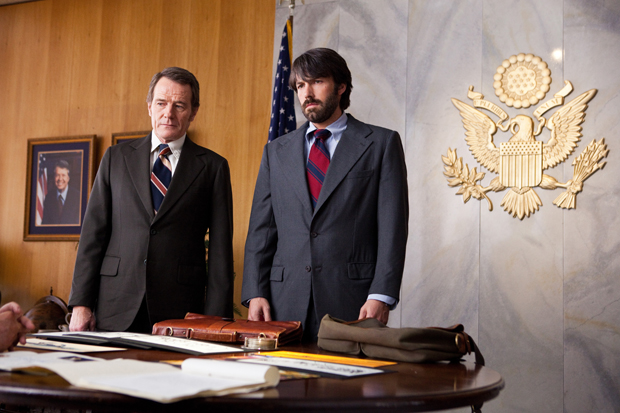 Bryan Cranston and Ben Affleck star in the rescue thriller 'Argo,' which premiers this week at the Telluride Film Festival. (AP/Warner Bros., Claire Folger)