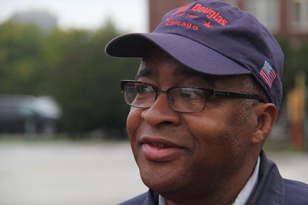 Bernard Turner, a director of the Camp Douglas Restoration Foundation. (Andrew Gill/WBEZ)