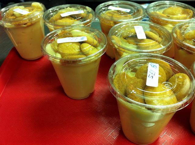 Banana pudding with Nilla Wafers (WBEZ/Louisa Chu)