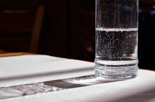 The European palate prefers water with a more mineral taste than the American palate. (Flickr/Beatrice Murch)