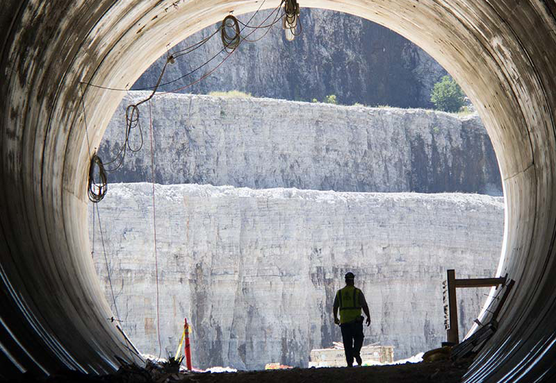 After 40 Years Chicago S Calumet Deep Tunnel Project Is