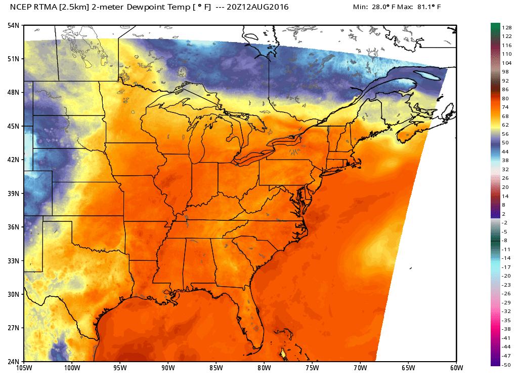 Brutal Heat For the Eastern Seaboard This Weekend  - Dan's