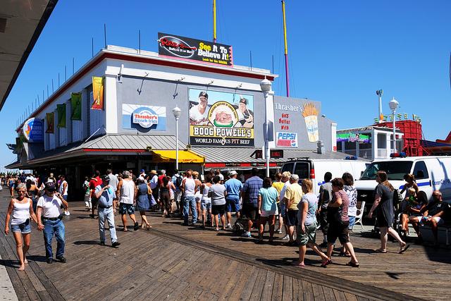 Food On The Ocean City Boardwalk
