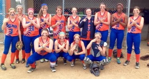 Delmar JV Softball