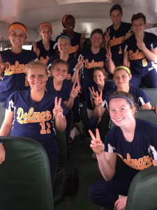 Delmar Varsity Softball