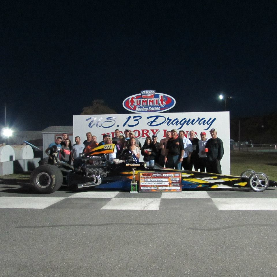 WR Ketterman 2015 Super Bad 8 Dragster Winner
